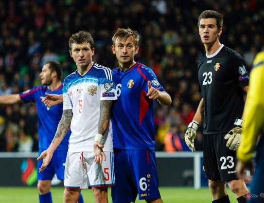 Moldova – Russia. Alexei Koselev played all 90 minutes