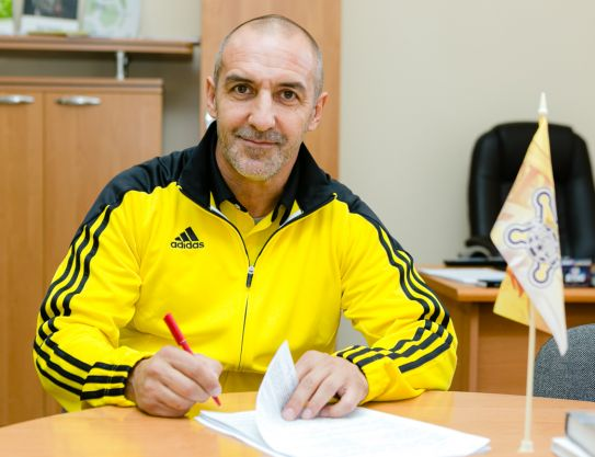 Roberto Bordin as a new head coach