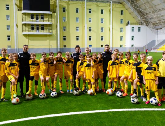 Social projects of Sheriff company. Football Academy
