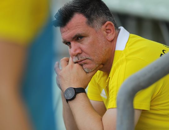 "Zoran Zekic: ""We'll treat the rival with all due respect"""